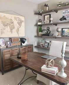35+ Incredible DIY Farmhouse Desk Decor Ideas On A Budget #diyfarmhouse  #deskdecor #farmhousedecorideas