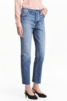 Straight Regular Jeans - Niebieski denim - ONA   H amp M PL 1 Best Mom 5fb13fd5512f