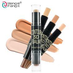 2 in 1 Teint + Verschönern Textmarker und Schimmer Concealer Bronzer 3 Farben 6,2g Gesicht Make-Up Marke HengFang # H8449