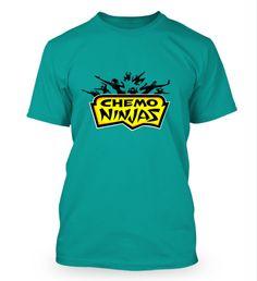 The Sears Great Canadian Run - Chemo Ninjas t-shirt