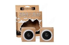 OrigAudio Fold And Play Recycled Speakers - Cityscape @ Play £5.99