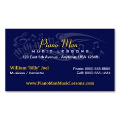 musician business card business cards and business