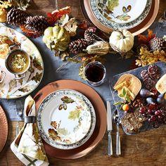 Williams-Sonoma acorn dinnerware
