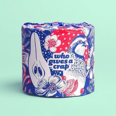 Who Gives A Crap toilet paper designed by Food Packaging Design, Tea Packaging, Paper Packaging, Packaging Design Inspiration, Brand Packaging, Product Packaging, My Design, Graphic Design, Creative Design