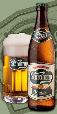 Starobrno...Czech beer