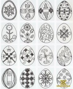 Pysanky Symbols and design