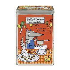 Boîte à soupes en sachet