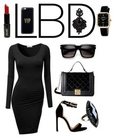 """""""lbd"""" by aries-indonesia ❤ liked on Polyvore featuring J.TOMSON, Betsey Johnson, Lord & Berry, Akribos XXIV, ZeroUV, Tasha and Casetify"""