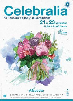 Por sexto año #CELEBRALIA presenta la feria de bodas y celebraciones en el @FeriasIfab de Albacete. @MiBodaApp