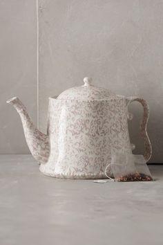 attingham teapot / anthropologie