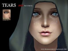 The first tears for Men and Women. Found in TSR Category 'Sims 4 Male Costume Makeup'