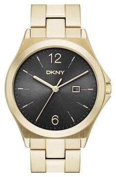 DKNY 'Parsons' Bracelet Watch, 34mm