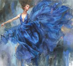 Anna Art Publishing is proud to present 'Above The Stars 1' an original painting by Anna Razumovskaya. For more info visit www.anna-art.com