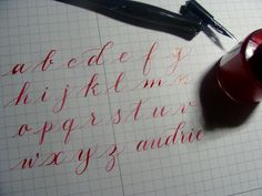 Doing a bit of practice late at night for my journal.