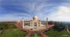 Taj Mahal - In The New Seven Wonders Of The World list Taj Mahal, a mosque-mausoleum located in Indian city of Agra, takes a very important place.