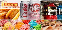 Você sabia que 90% dos produtos que vemos nas prateleiras dosupermercado são carregados deingredientes processados? A dura realidadeé que estes ingredientes estão nos