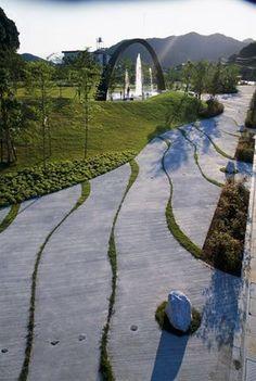 Saiki-Peace-Memorial-Park-by-Earthscape-03 « Landscape Architecture Works | Landezine #landscapearchitecturepark