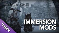 ★ Skyrim - Mod Library - Best Immersion Mods Pt. 1