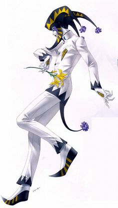 View an image titled 'Joker-sama Art' in our Persona Innocent Sin art gallery featuring official character designs, concept art, and promo pictures. Fantasy Character Design, Character Design Inspiration, Character Concept, Character Art, Concept Art, Dnd Characters, Fantasy Characters, Jojo Stands, Estilo Dark
