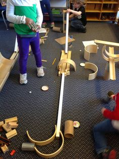 Wonders in Kindergarten: Ramps and Pathways: Play-based learning at its best!