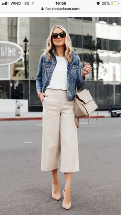 Classy Outfits, Cool Outfits, Casual Outfits, Fashion Outfits, Womens Fashion, Trousers Women Outfit, Pantalon Large, Work Fashion, Casual Chic