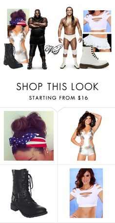 """""""Mark VS Bo!"""" by imblissedoff ❤ liked on Polyvore featuring Wet Seal and Dr. Martens"""