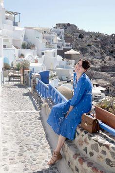 Santorini Blue   Greta Hollar