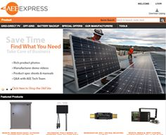 AEE Solar Launches the New AEEExpress.com B2B eCommerce Website http://www.stadeatools.com/