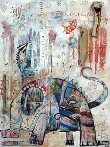 Jesse Reno USA painting, murals