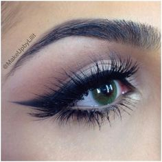 Smokey Cat Eye {pretty! }