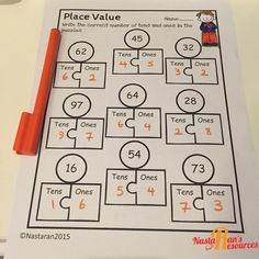 Common Core Math Printables First Grade includes 52 printable worksheets that cover every First Grade Math Common Core. This product is great for reinforcing the common core math skills,morning work ,and math centers.
