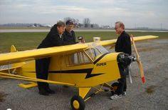 Colossal Cub! 26-foot-span RC aircraft - Model Airplane News
