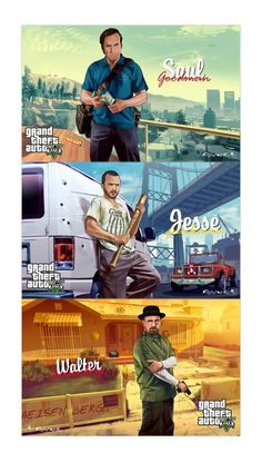 GTA 5 Breaking Bad. Im really gunna miss this show