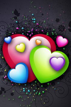 Image detail for -... /20101/iphonewallpapers/Bright-Colorful-Hearts-20100526.jpg