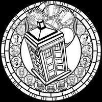 Doctor Who SG -line art- by Akili-Amethyst