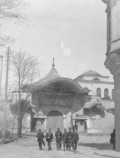 Bab-ı-ali giriş kapısı 1900'ler.