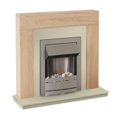 Blyss Ferndown Flat Against Wall Electric Fire Suite: Image 1