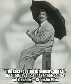 Groucho Marx quote