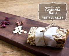 How to Make: Granola