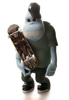 The Skate Zombies by Tsuchiya Shobu