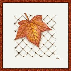 Heilzeichnen: Wöchentliche Herausforderung Blätter und Cayke
