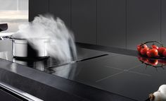 The Air Uno Bach-Evo is the latest addition to our stylish downdraft range. It has a new filter system and removable liquid collection channel. Downdraft Extractor, Extractor Hood, Extractor Fans, Electric Cooktop, Cooker Hoods, Wave Design, Island Design, Home Reno, Interior Design Kitchen