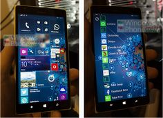 Mock-up claims to show new Windows 10 for Phones Start screen backgrounds - http://wmpoweruser.com/mock-up-claims-to-show-new-windows-10-for-phones-start-screen-backgrounds/