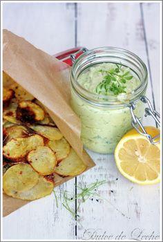 Dulce de Leche: Avokádový dip a domáce zemiakové chipsy