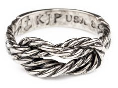 Sailors Knot Rings - Sailor Forever Knot - Silver - by Kiel James Patrick