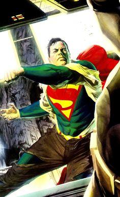 Superman vs. Batman by Alex Ross