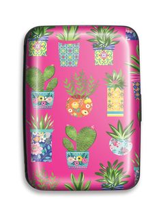 Succulent Pattern Credit Card Case by Lady Jayne Card Case, Cactus, Succulents, Lunch Box, Lady, Pattern, Collection, Patterns, Succulent Plants