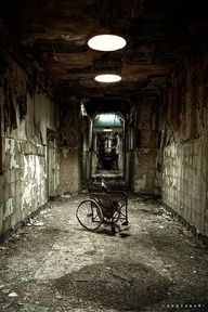 the asylum he used to live in