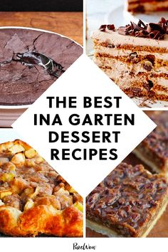 The Barefoot Contessa can whip up a dessert like no other. Check out the best Ina Garten dessert recipes today! Gourmet Food Store, Gourmet Desserts, No Bake Desserts, Gourmet Recipes, Baking Recipes, Dessert Recipes, Ina Garten Banana Bread, Ina Garten Chocolate Cake, Best Ina Garten Recipes