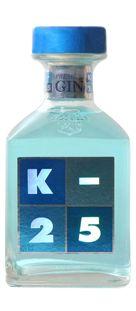 K-25, la ginebra premium hecha en España.  11 destilaciones en alambiques históricos con más de 150 años.